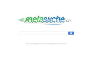metasuche.ch screenshot