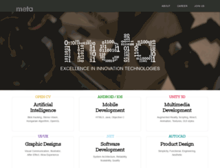 metatechnology.co.uk screenshot