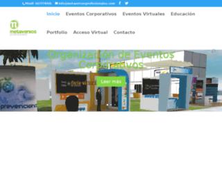 metaversosprofesionales.com screenshot