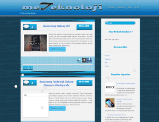 meteknoloji.blogspot.com screenshot