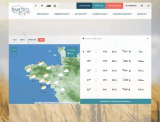 meteo-bretagne.fr screenshot