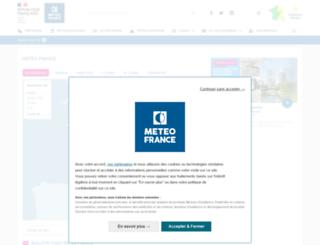 meteo-france.fr screenshot