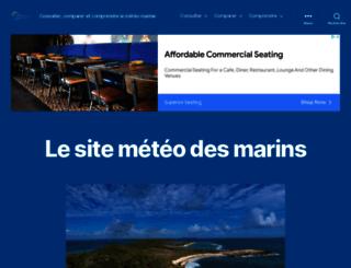 meteo-marine.com screenshot