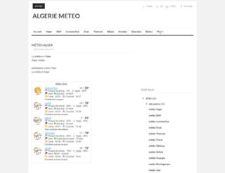 meteo.dzemploi.org screenshot