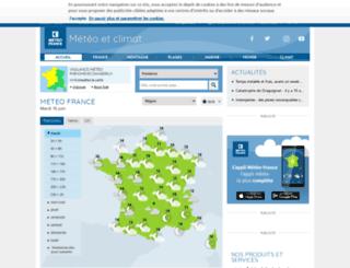 meteo.education.fr screenshot