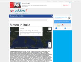meteo.guidone.it screenshot
