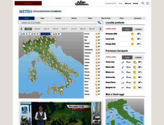 meteo.ilfattoquotidiano.it screenshot