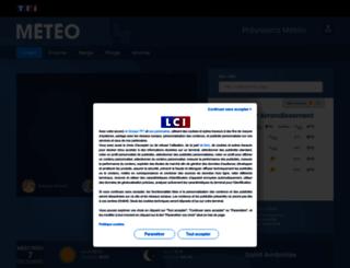 meteo.tf1.fr screenshot