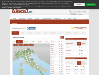 meteo.tuttosport.com screenshot
