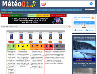 meteo01.fr screenshot