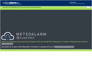 meteoalarm.gr screenshot