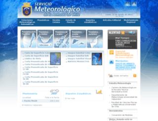 meteoarmada.directemar.cl screenshot
