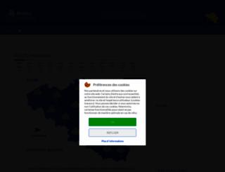 meteobelgique.com screenshot