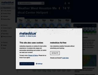 meteoblue.ch screenshot
