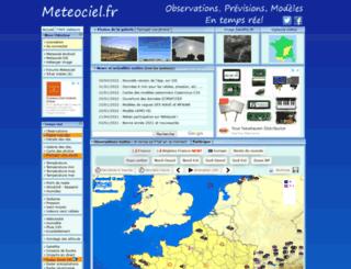 meteociel.ch screenshot