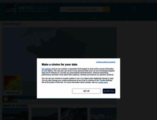 meteoconsult.co.uk screenshot