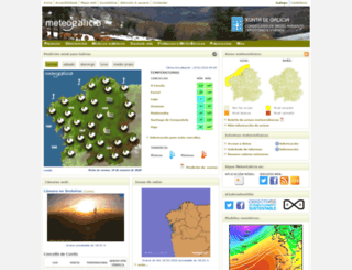 meteogalicia.es screenshot