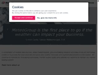 meteogroup.co.uk screenshot