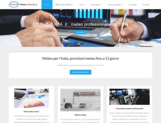 meteoitalia.it screenshot