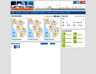 meteopisa.net screenshot