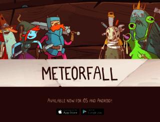 meteorfall-game.com screenshot