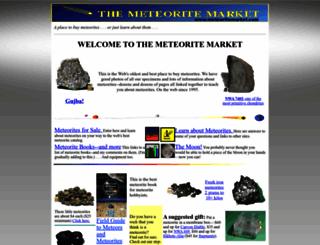 meteoritemarket.com screenshot