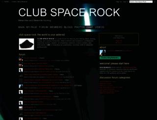 meteorites.ning.com screenshot