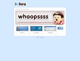 meteoro.livra.com screenshot