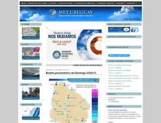 meteorologiauruguay.blogspot.com screenshot