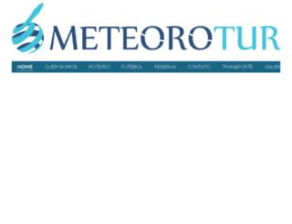 meteorotur.com.br screenshot