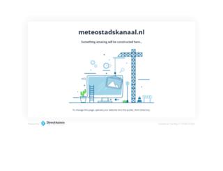 meteostadskanaal.nl screenshot