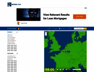 meteox.be screenshot