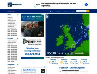 meteox.co.uk screenshot