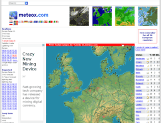 meteox.com screenshot