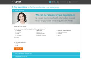 metertwo.alliancehealth.com screenshot