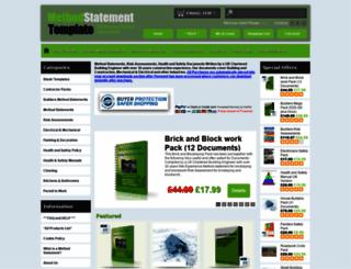 method-statement-template.info screenshot