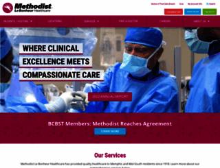 methodisthealth.org screenshot