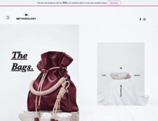 methodologywears.com screenshot