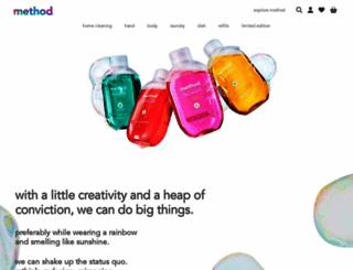 methodproducts.co.uk screenshot