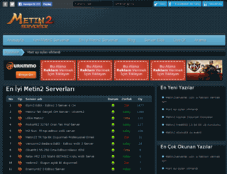 metin2serverler.com screenshot