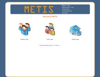 metis.materdei.ie screenshot