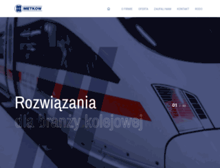 metkow.com.pl screenshot