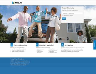 metlife-online.com screenshot