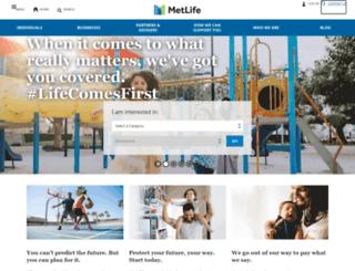 metlifealico.ae screenshot