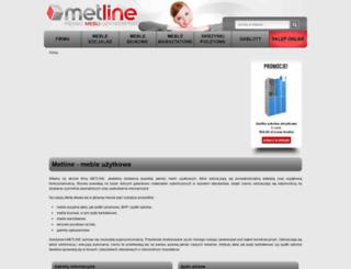metline.com.pl screenshot