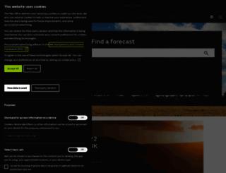 meto.gov.uk screenshot