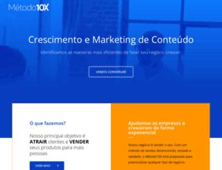 metodo10x.com.br screenshot