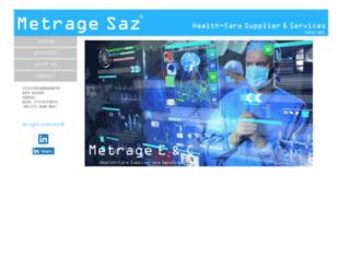 metragesaz.co.ir screenshot