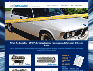 metricmechanic.com screenshot