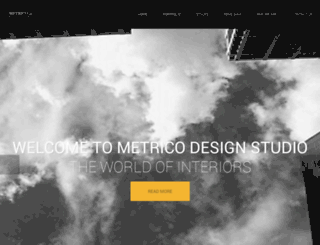 metricodesigns.com screenshot
